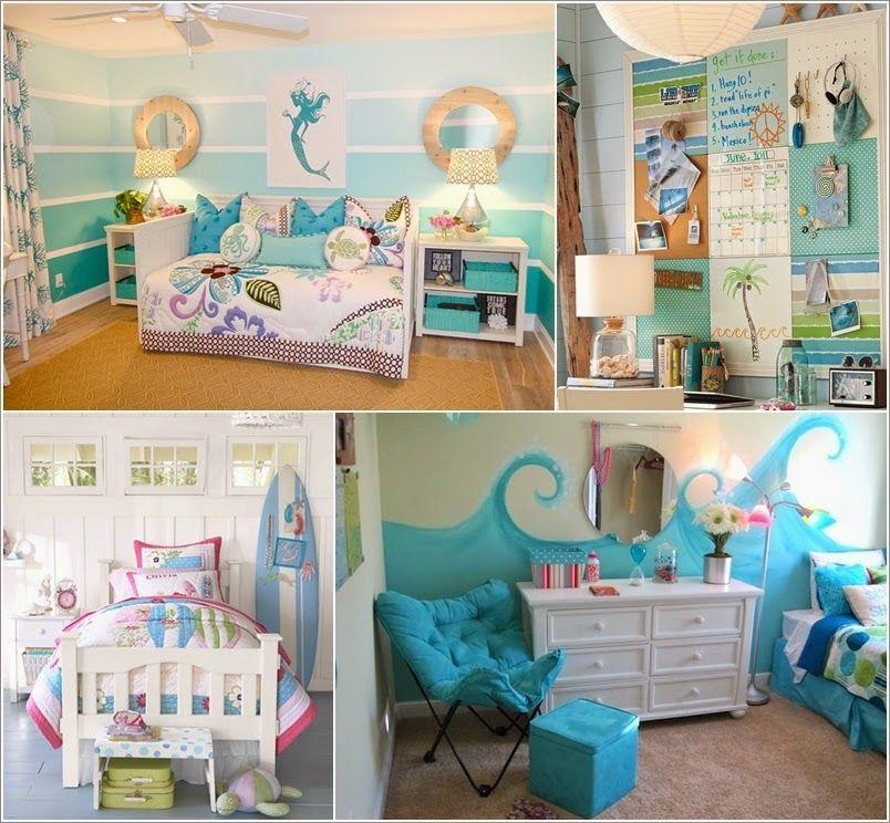 Adorable Sea Themed Kids Room Wall Decor Ideas Home Interior
