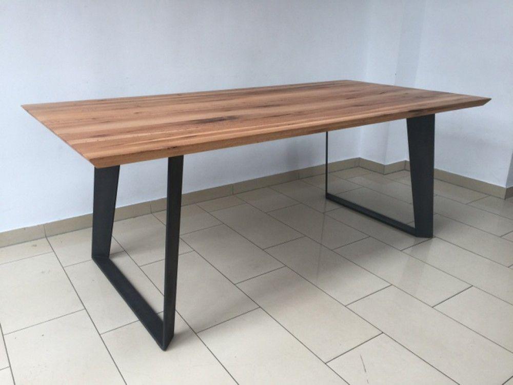 Esstisch Eiche Tischplatte Tisch Massiv Eiche Tisch Gestell