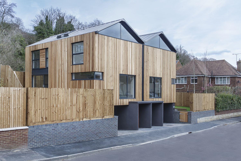 Gallery of The Cedar Lodges / Adam Knibb Architects - 7 | Fassaden ...