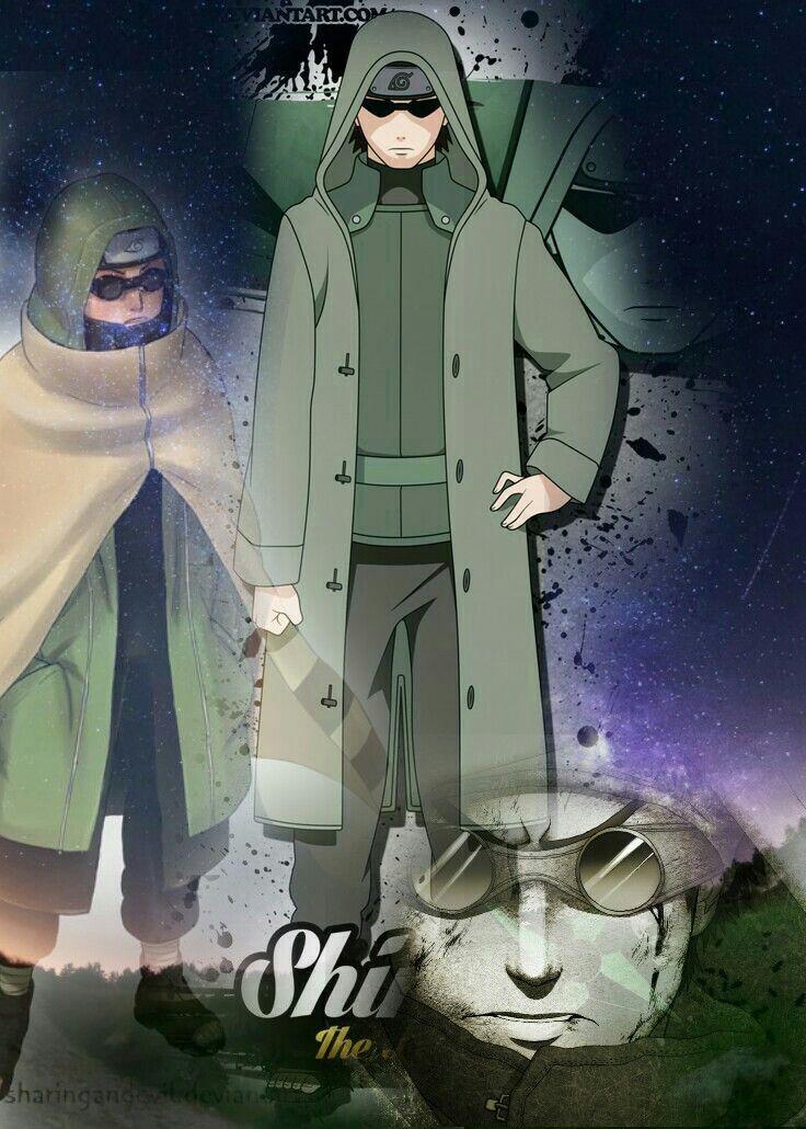 SHINO ABURAME NARUTO | Naruto shippuden characters, Anime naruto, Naruto shippuden