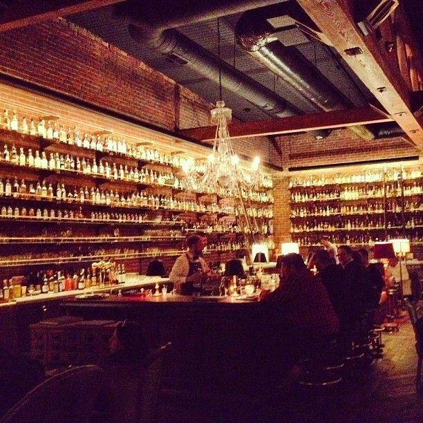 Multnomah Whiskey Library • Portland, Oregon.