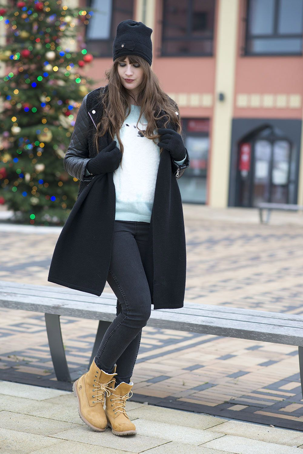 timberland femme tenue