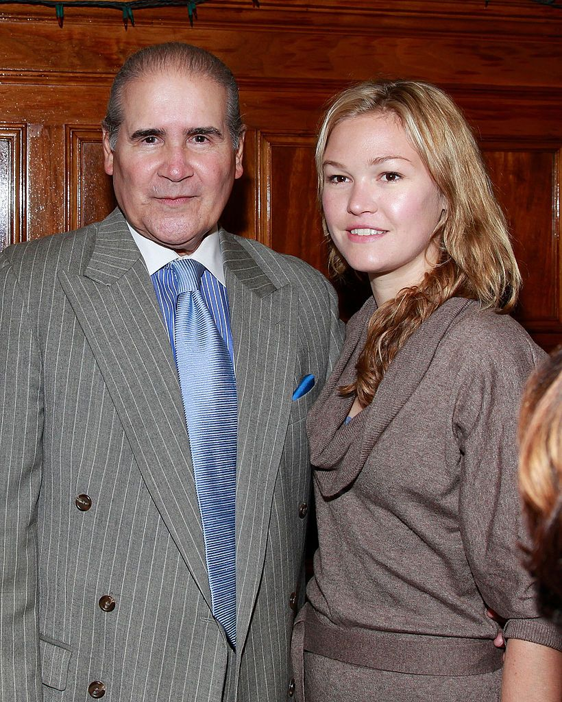 Retired Judge Author Edwin Torres And Actress Julia Stiles Attend Julia Stiles Actresses Stiles