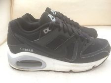 free shipping c98cc 05459 Nike Air Max Black Trainers Size 3 UK Older Girls Boys. Good Condition