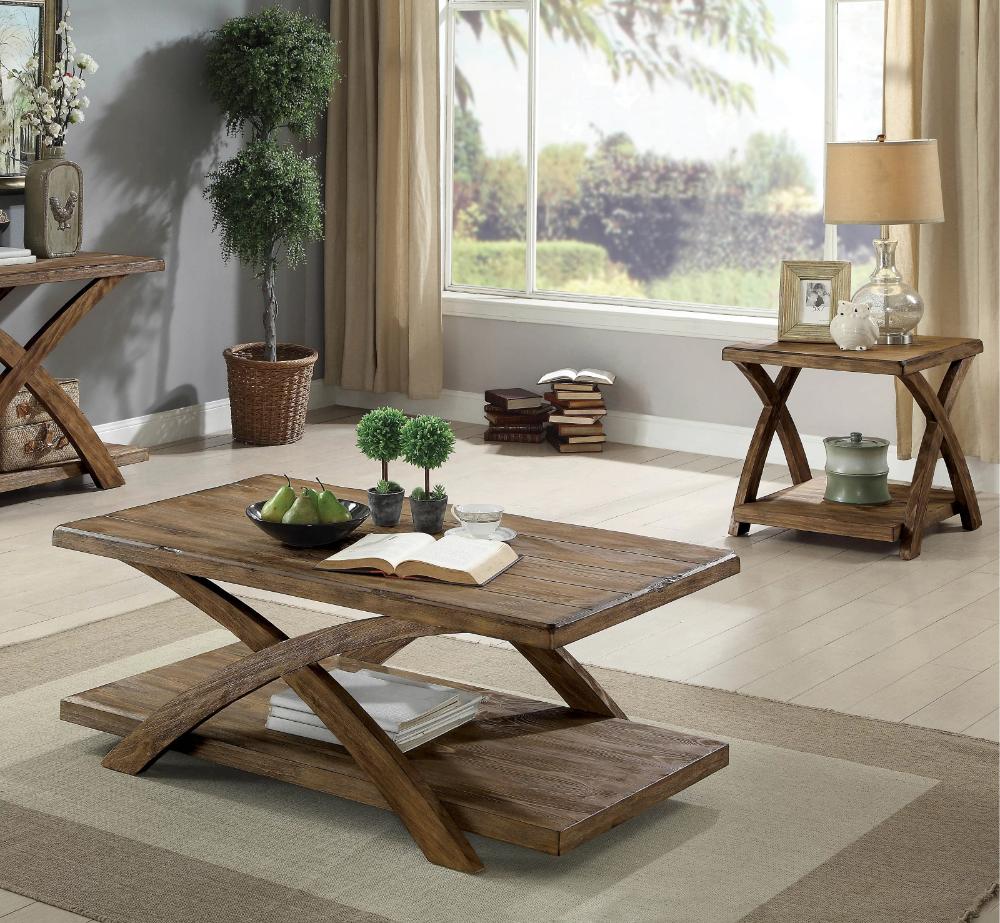 Jaylon 3 Piece Coffee Table Set Living Room Table Sets Coffee Table Wood Coffee Table [ 923 x 1000 Pixel ]