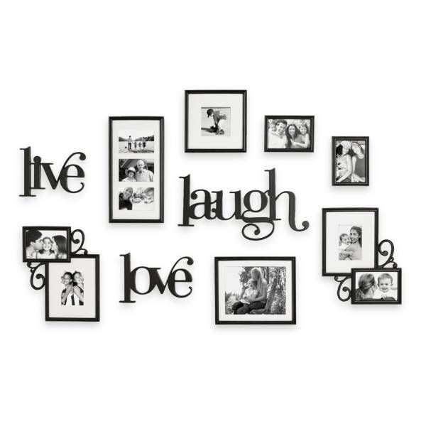 Product Image for WallVerbs™ 10-Piece Live Laugh Love Wall ...