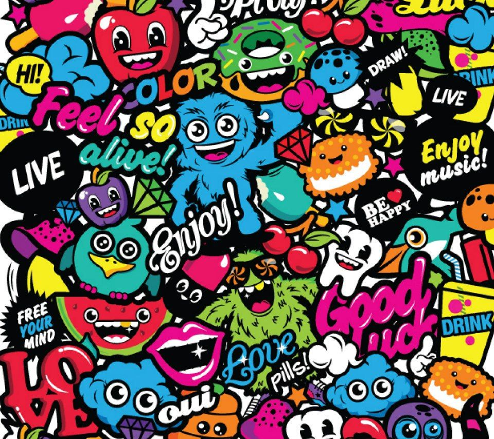Cute Tokidoki Wallpaper Happy Together Samsung Galaxy S3 I9300 Wallpapers