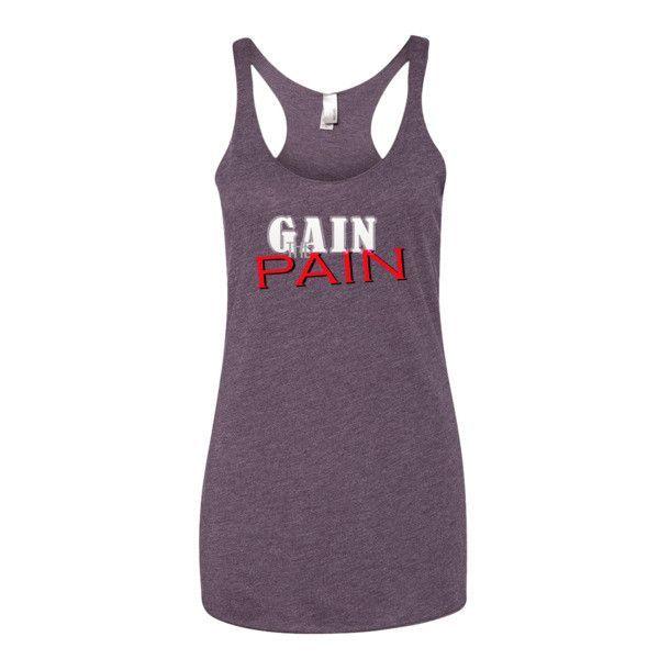 Gain The Pain - Women's tank top