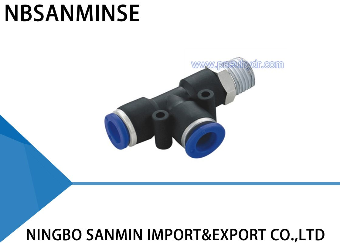 PST4-M6 , Pneumatic Pipe Fitting , Pipe Connect ,Tube Connector