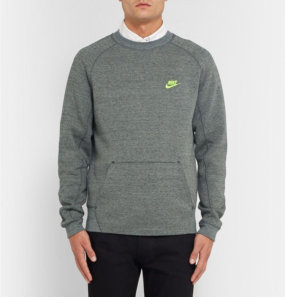 Nike Tech Fleece CottonBlend Jersey Sweatshirt MR