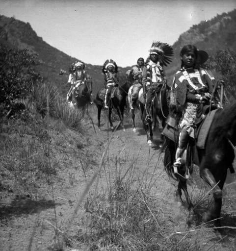 Ute Trail ~ 1912 in Colorado near Manitou Springs