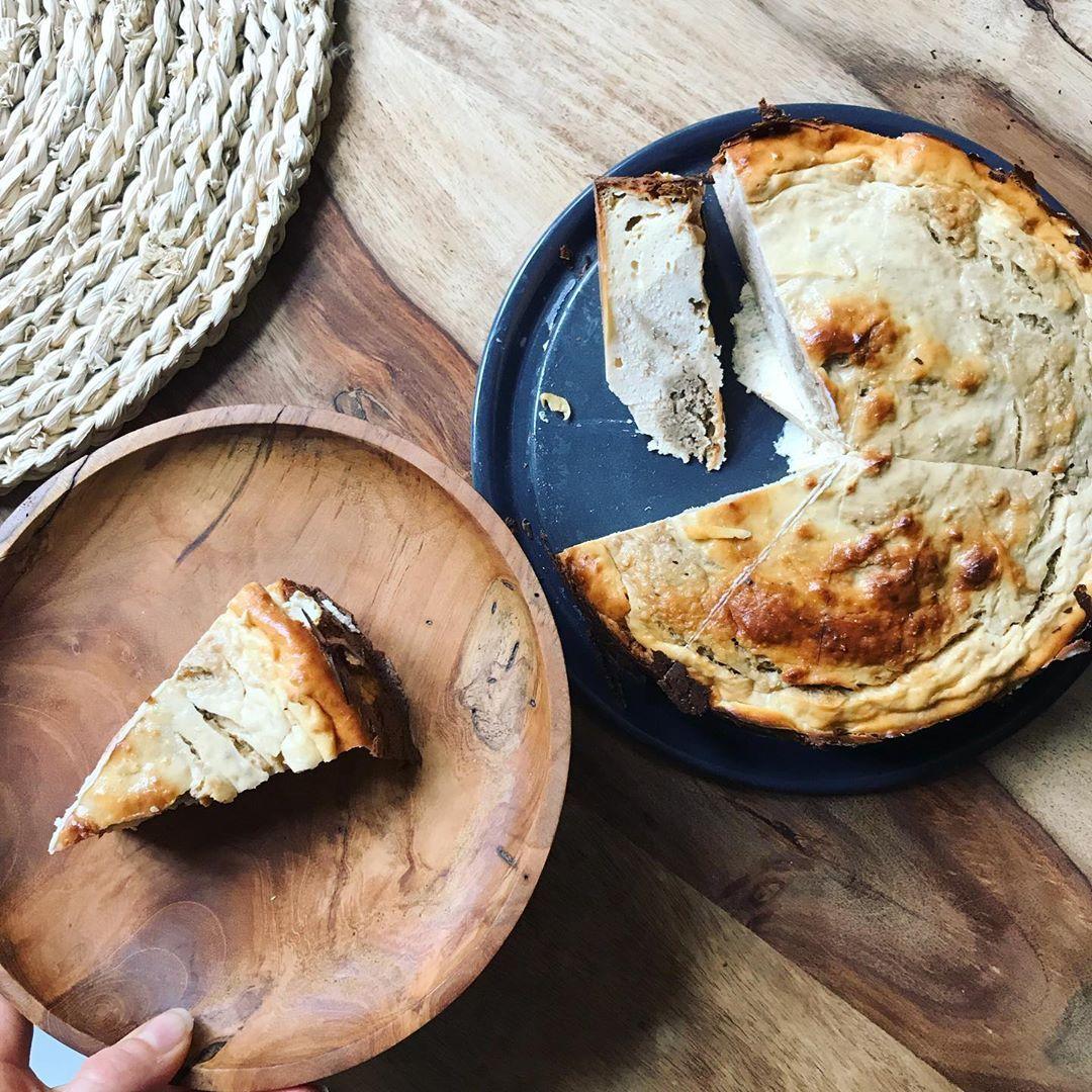 SUNDAYS....Rezept gibt's ein paar Posts zuvor ! Habt es fein ♥️ #goodmorning #cheesecake #healthy #f...