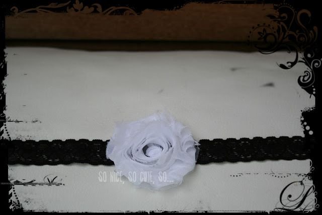 So Nice, So Cute, So...: The Vintage Collection in BLACK. One Flower