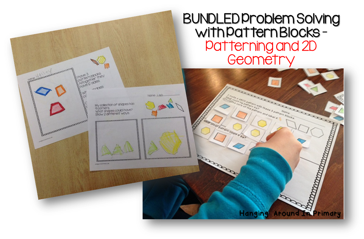 Problem Solving Math Worksheets Or Activities For