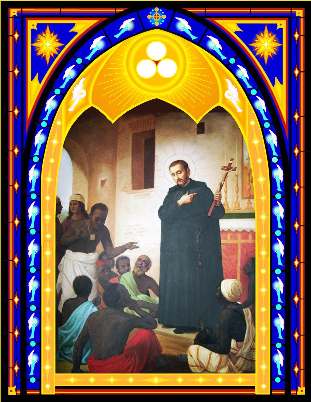 St. Peter Claver Art, Painting, Fine art