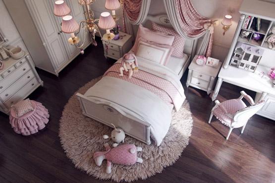 تصاميم غرف نوم بنات وغرف البنات الأنيقة بديكورات رقيقة ديكورات أرابيا Girls Bedroom Toddler Bed Bed