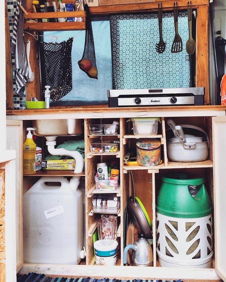 Installing A Camper Van Water System [Sink & Plumbing Diagrams] - #Camper #Diagrams #Installing #Plumbing #Sink #System #Van #ʷᵃᵗᵉʳ #wellen #kitchentips