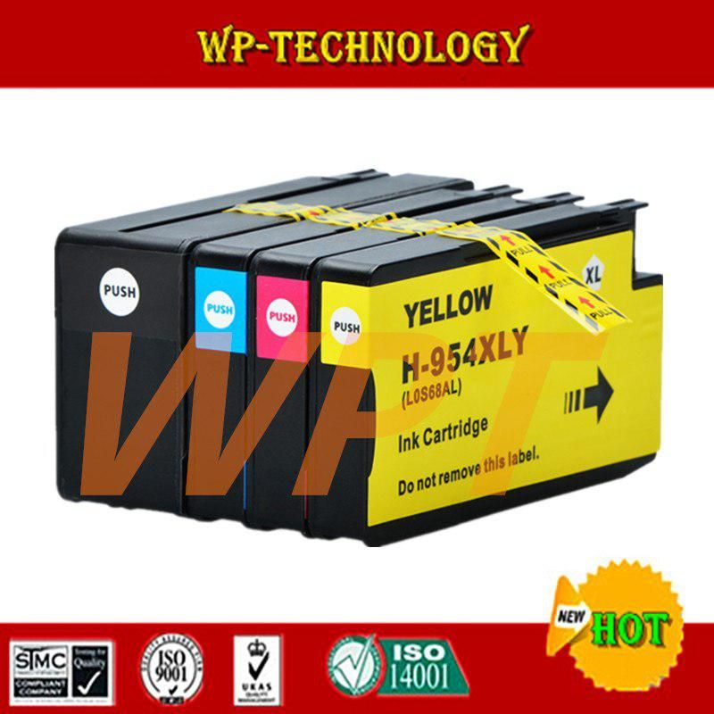 Compatible Ink Cartridge For Hp 954 Hp954 Bk C M Y For Hp Officejet Pro 7740 8210 8710 8715 8716 8720 8725 8730 8740 Printer Hp Officejet Pro Hp Officejet Ink Cartridge