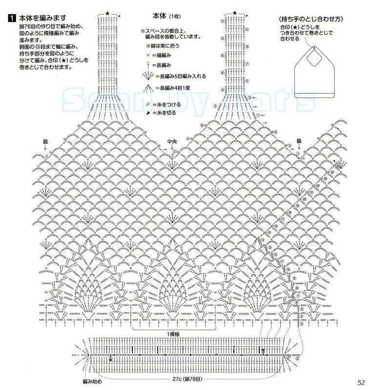 Avoska gancho de la revista japonesa | bolsos y complementos ...