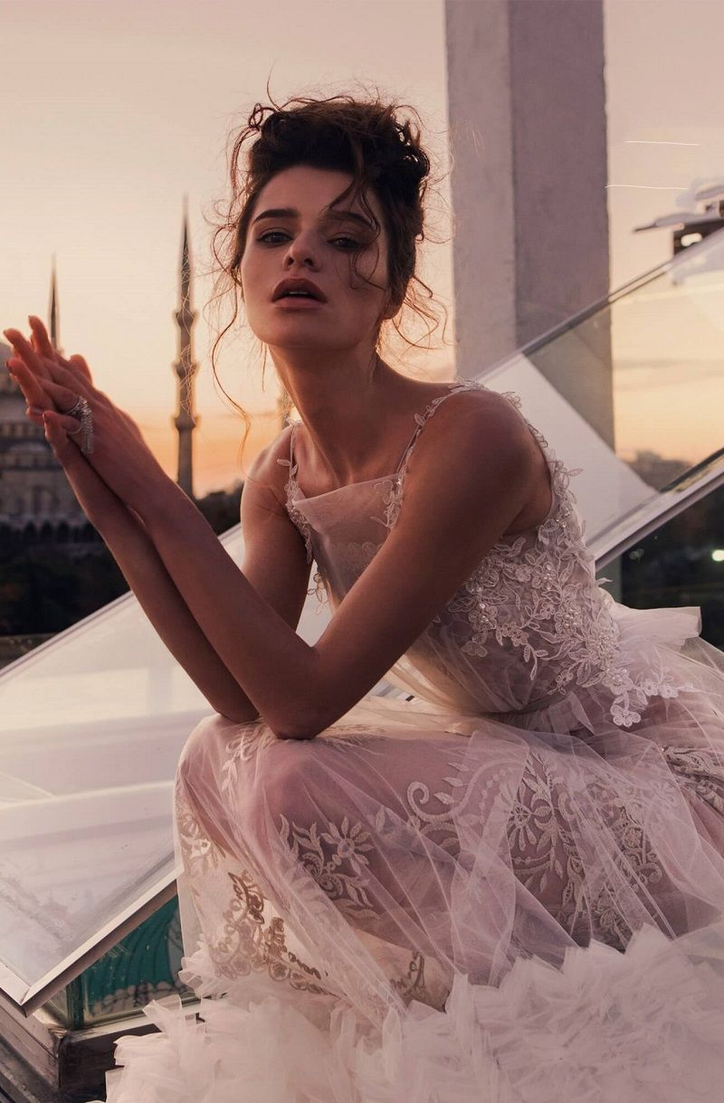 """Veilar + Sonis"" BLAMMO-BIAMO Wedding Dress Inspiration"