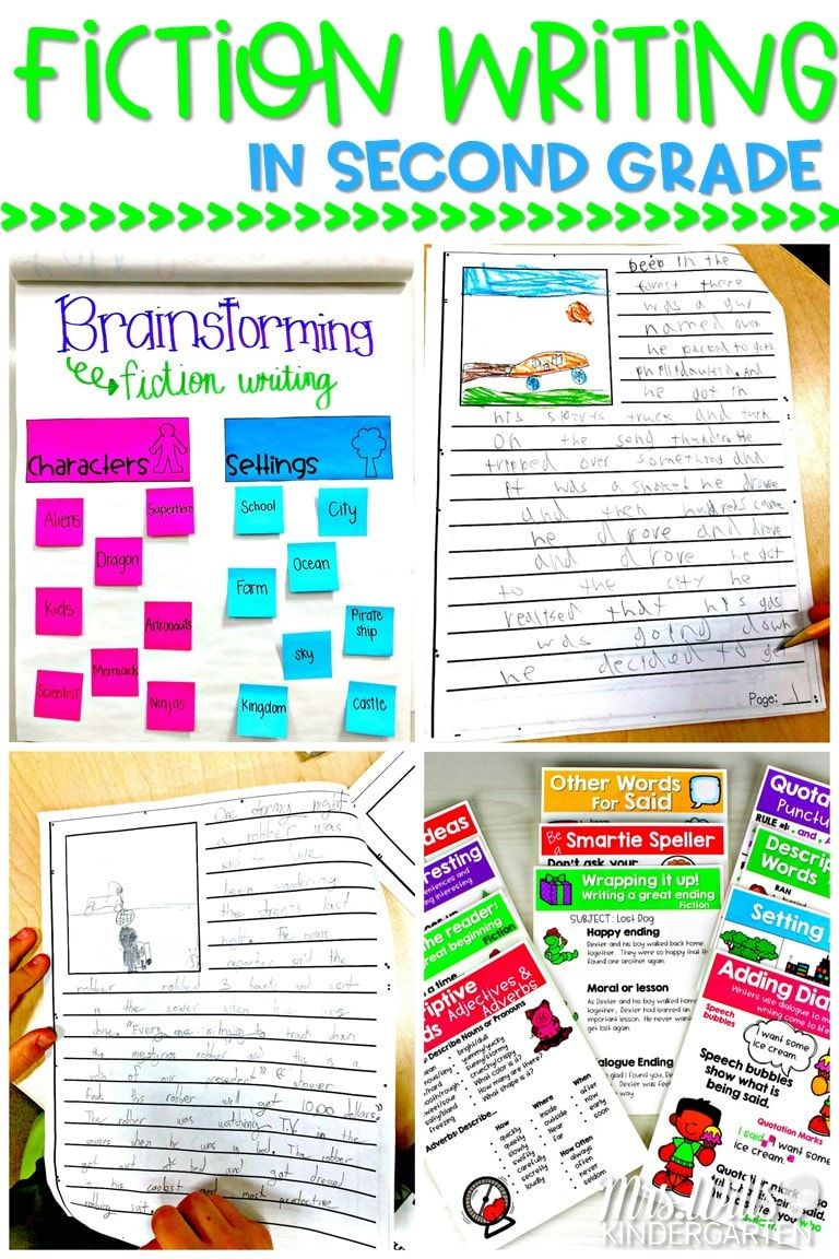 Fiction Writing in Second Grade | Wrting Genres for K-3