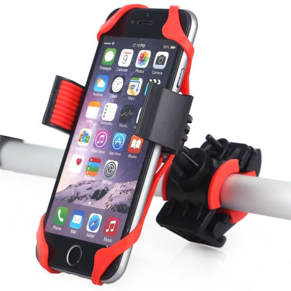 2xMotorcycle Bicycle MTB Bike Handlebar Mount Holder Universal For Phone GPS PDA