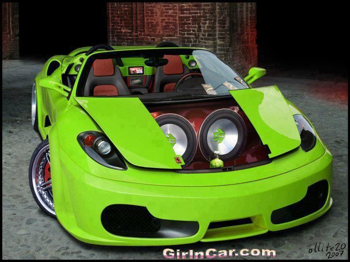 Very Sweet Car The Limy Green Is Very Loud And Cool This Car Is An - Sweet cars