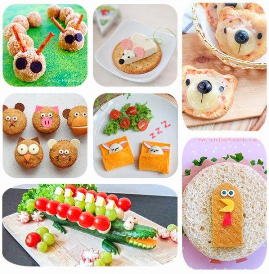 7 recetas f ciles para ni os de animalitos fun food - Postres con frutas faciles ...