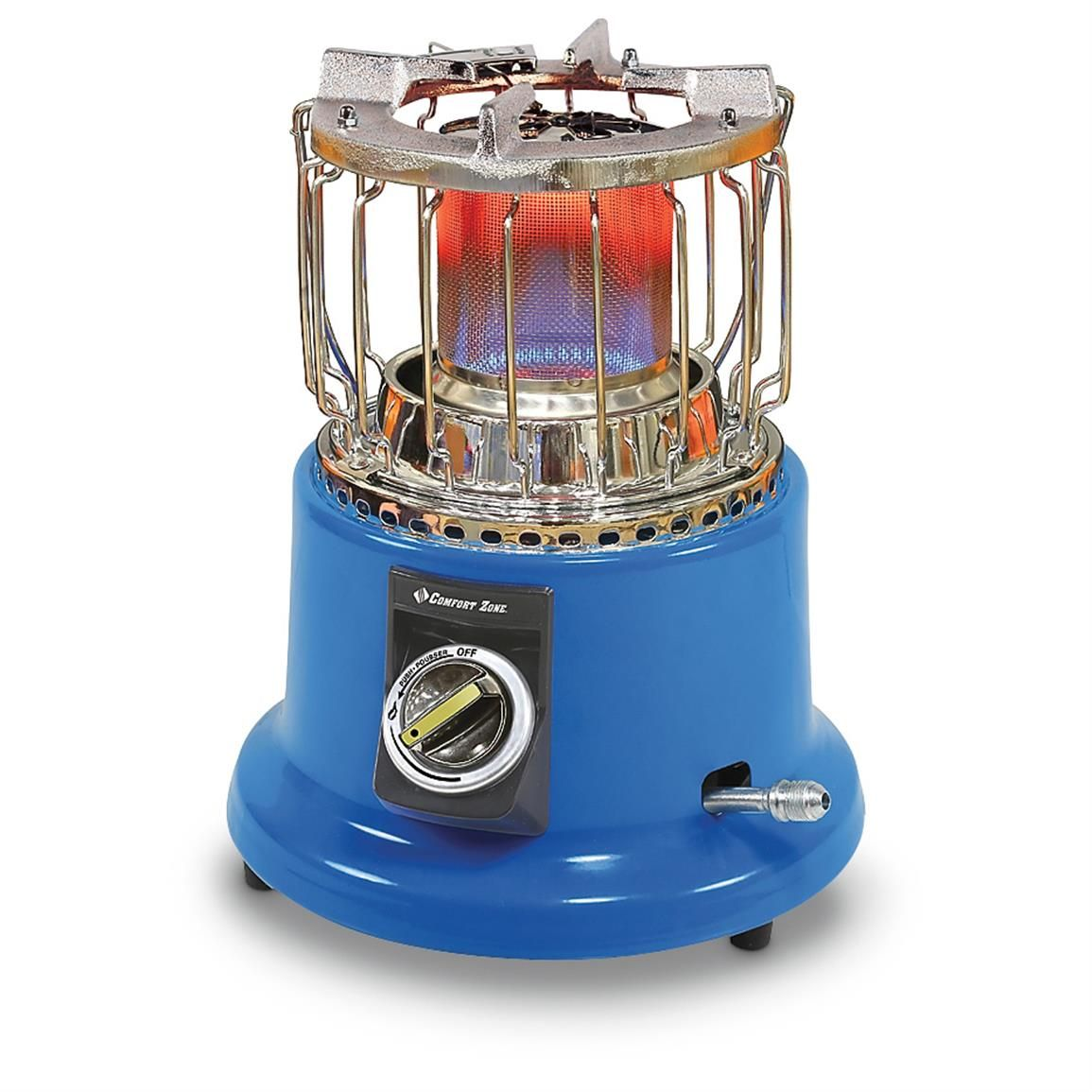 Comfort Zone 2 In 1 Heater Cooker Camping Heater