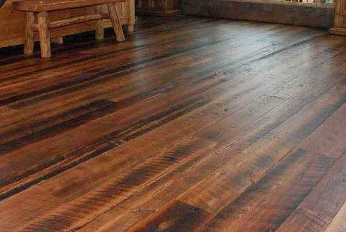 Reclaimed heart pine floors from whole log lumber for Local reclaimed wood