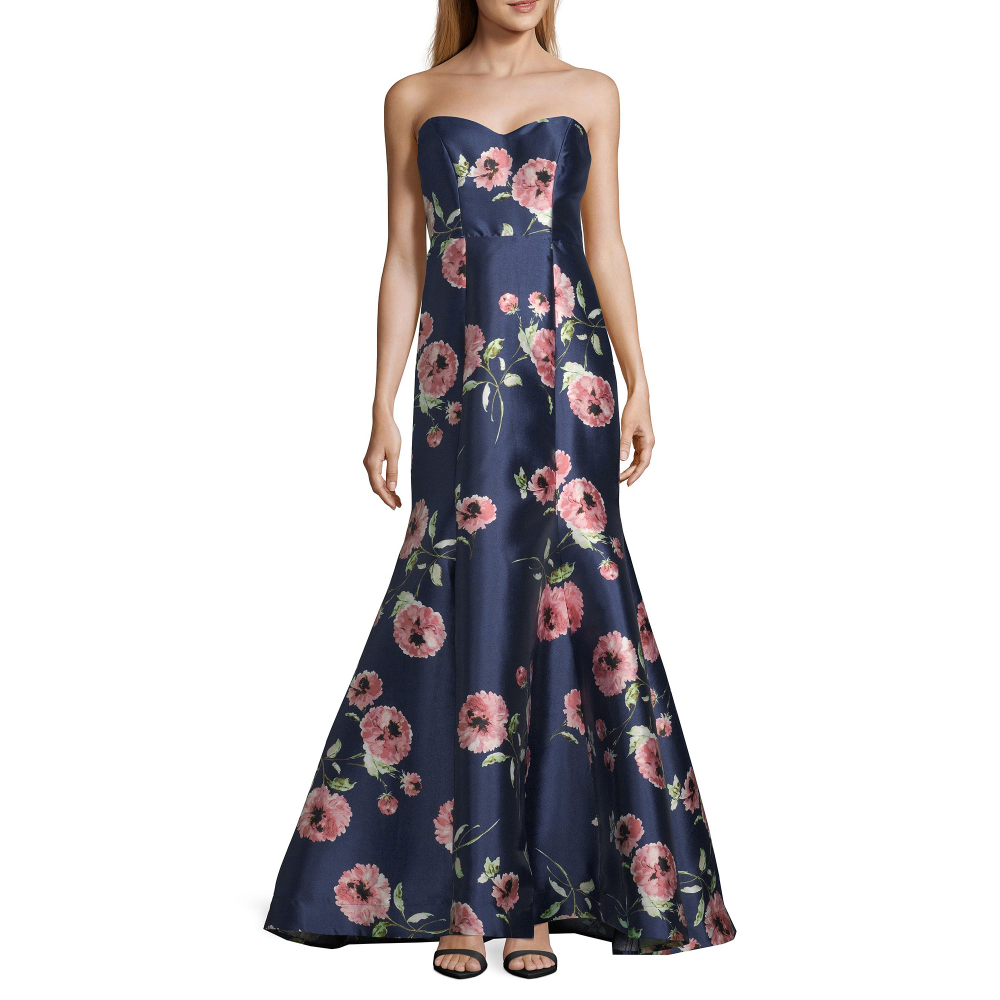 B Darlin Sleeveless Ball Gown Juniors Color Navyblush Jcpenney Ball Gowns Gowns Strapless Dress Formal [ 1000 x 1000 Pixel ]
