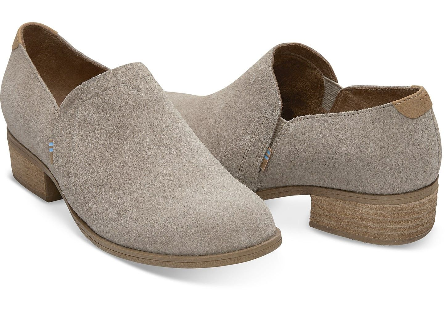 cdd21f124a3 Toms Desert Taupe Suede Women's Shaye Booties - 9.5 Brown in 2019 ...