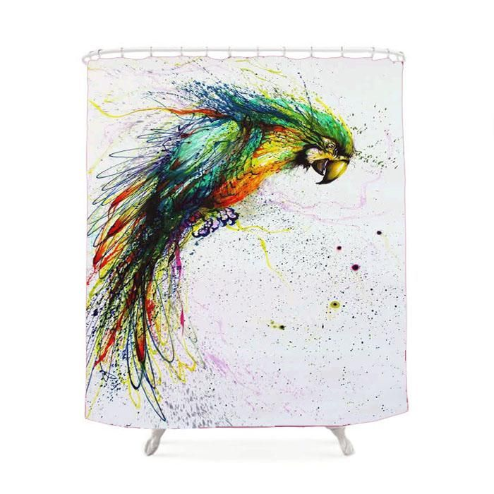 Bird Old Prince Shower Curtain Cool Art