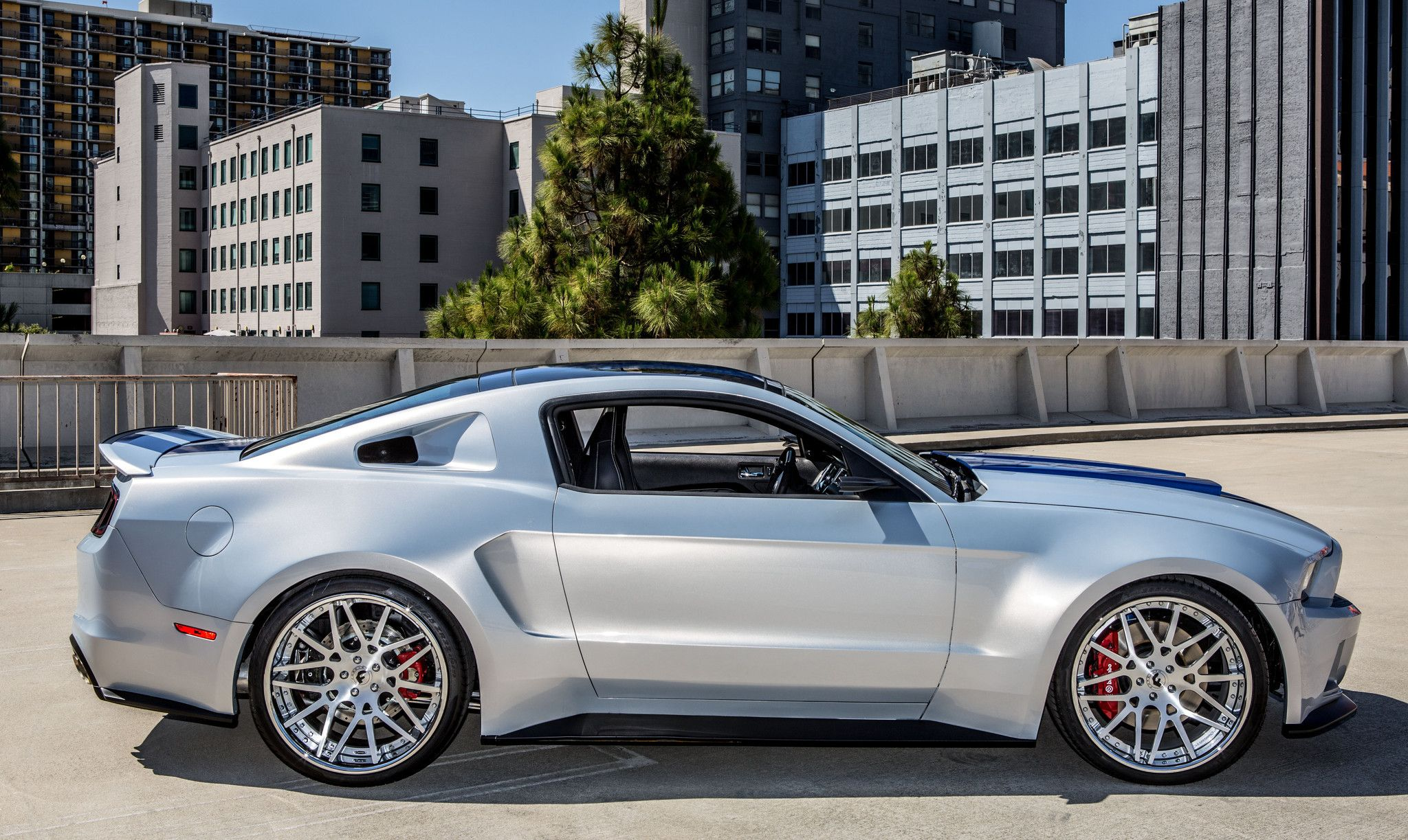 architecture and mustang art perfect together mustang