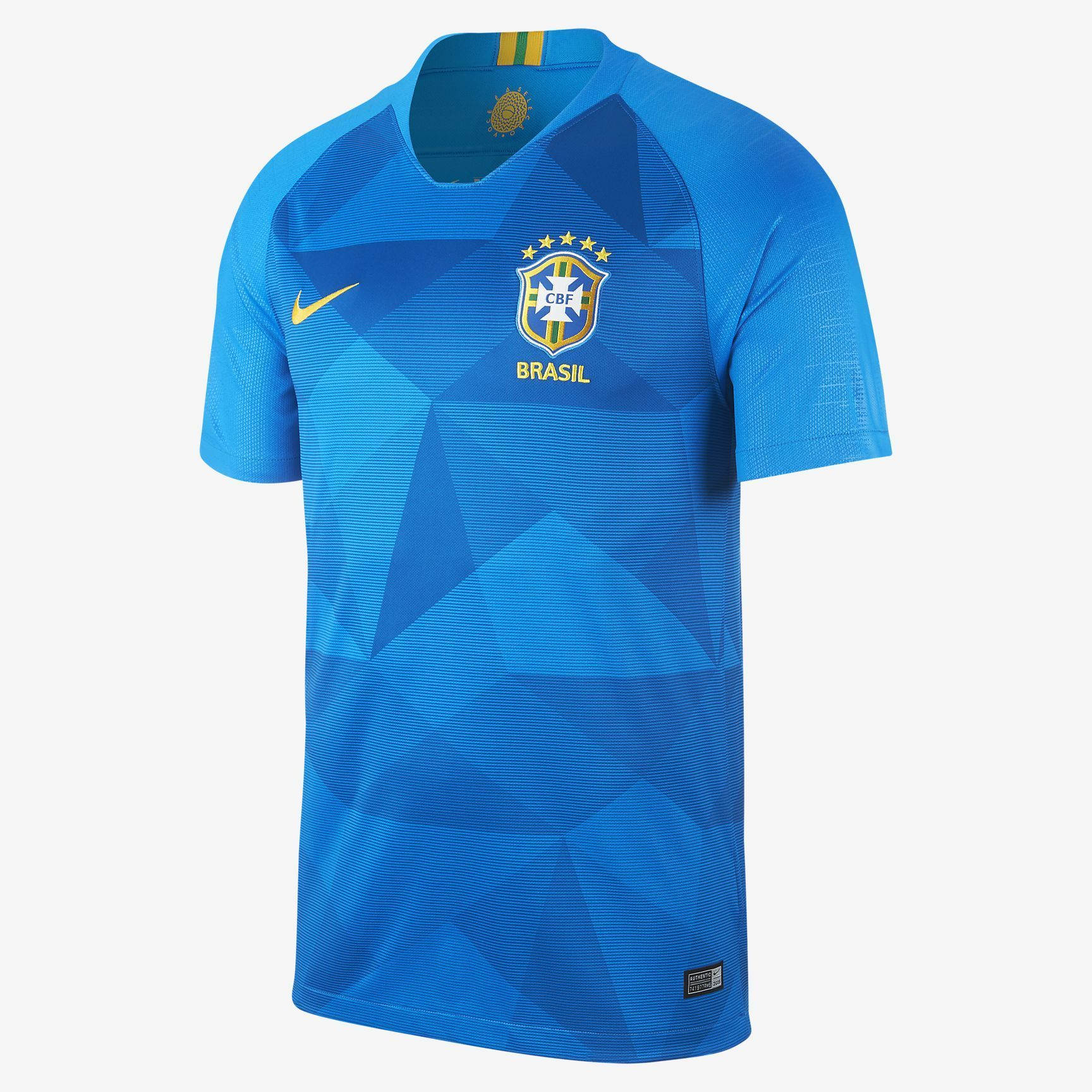 9e00188fac3 Nike brazil away jersey fifa world cup 2018
