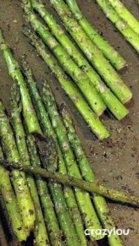 Grilled Asparagus on MyRecipeMagic.com Delicious spring veggie!