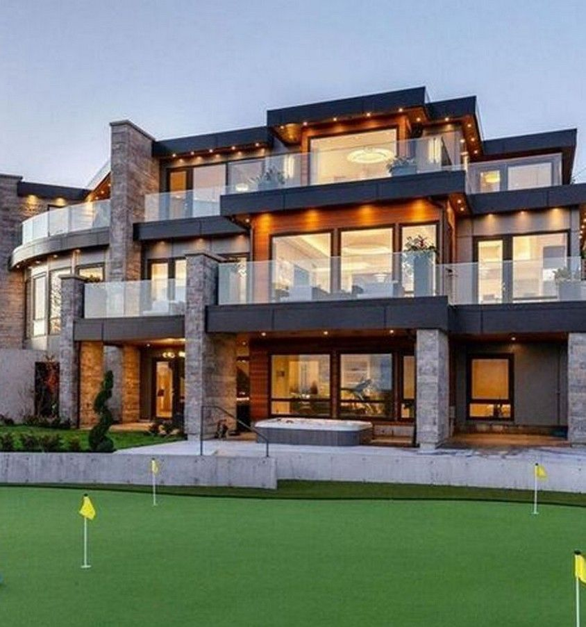 21 Most Popular Modern Dream House Exterior Design Ideas 8 Dreammansion Some House Designs Th Luxury Exterior Design Luxury Homes Dream Houses Luxury Exterior