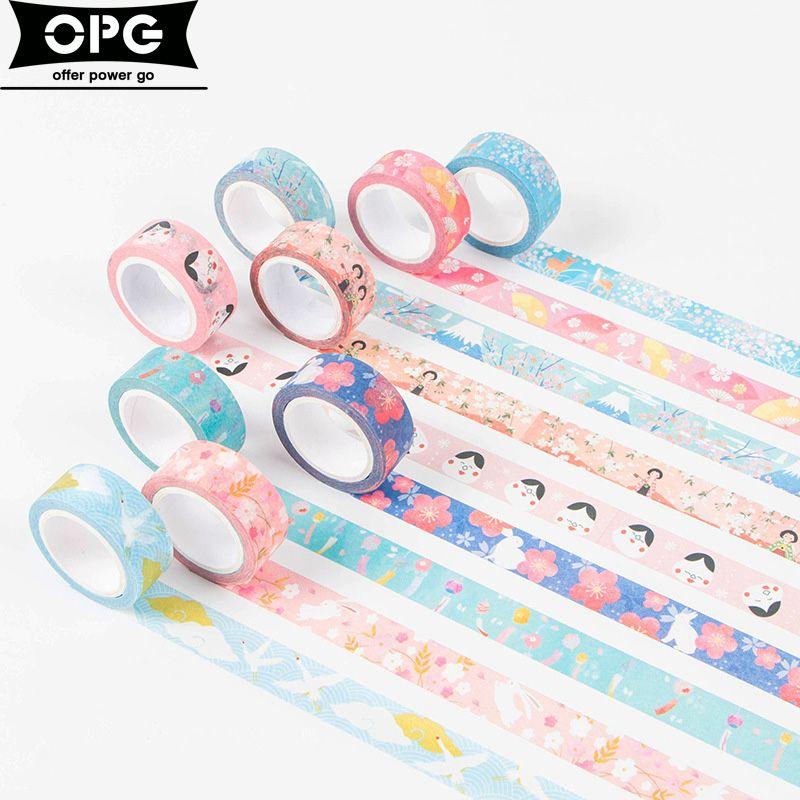 Scotch Decorative Masking Tape Japanese Washi Tape Decorative Scotch Tape Decorative Tapes