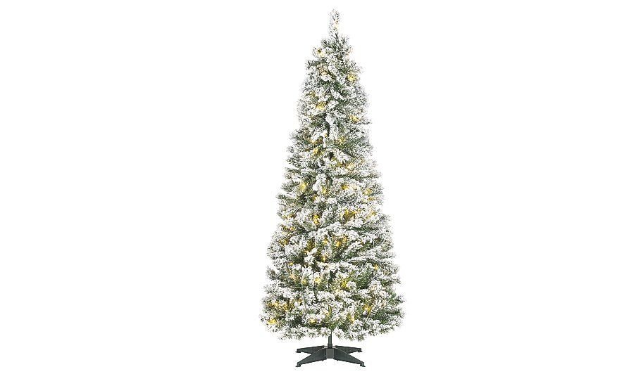 George Home 6ft Frosty Pop Up Christmas Tree Read Reviews And Buy Online At George At Asda Shop From Our Lat With Images Pink Christmas Christmas Shopping Christmas Tree