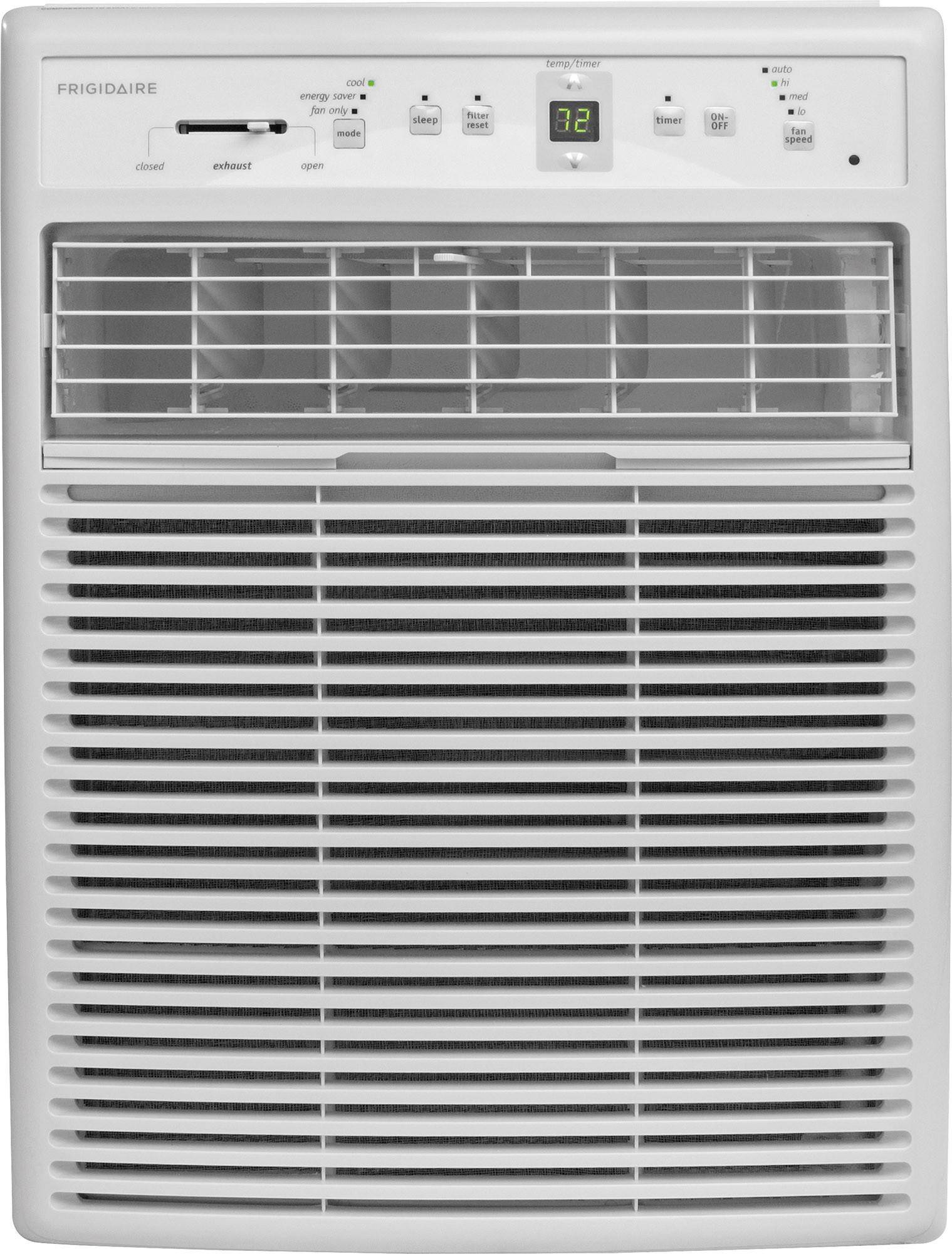 Frigidaire Ffrs0822s1 8 000 Btu Room Air Conditioner With 263 Cfm 3 Fan Speeds Effortless Temperature Control 24 Hour Timer Energy Saver Mode Effortless Re Window Air Conditioner Casement Window Air Conditioner Casement Air Conditioner