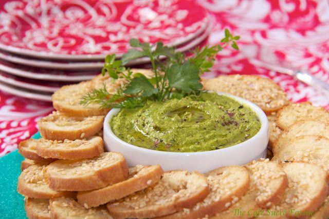 Hummus and guacamole--sounds like a great combo.