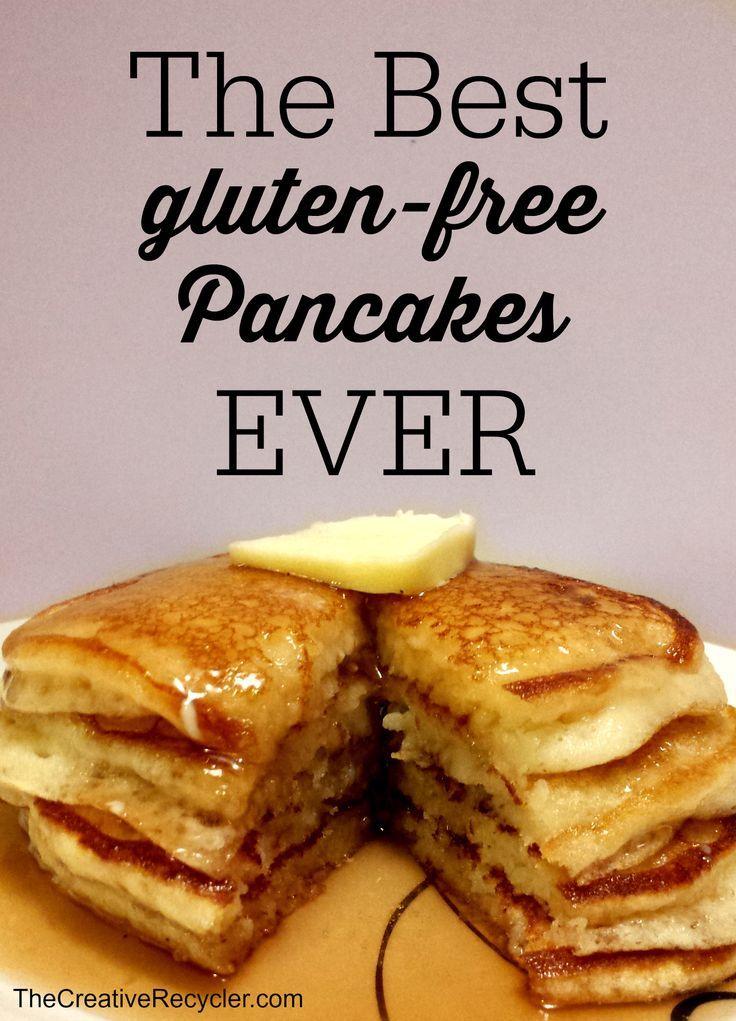 The Best Gluten-Free Pancakes Ever #glutenfree