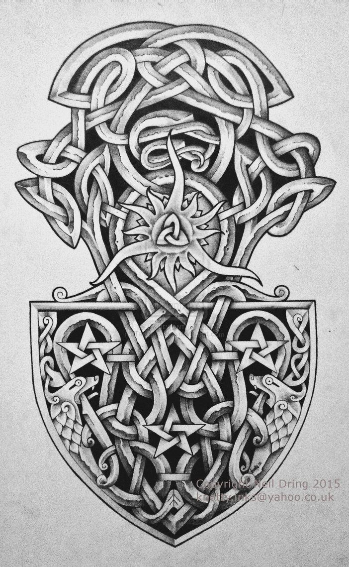 pin von star dust auf celtic knotwork viking norse pinterest wikinger tattoos kelten und. Black Bedroom Furniture Sets. Home Design Ideas