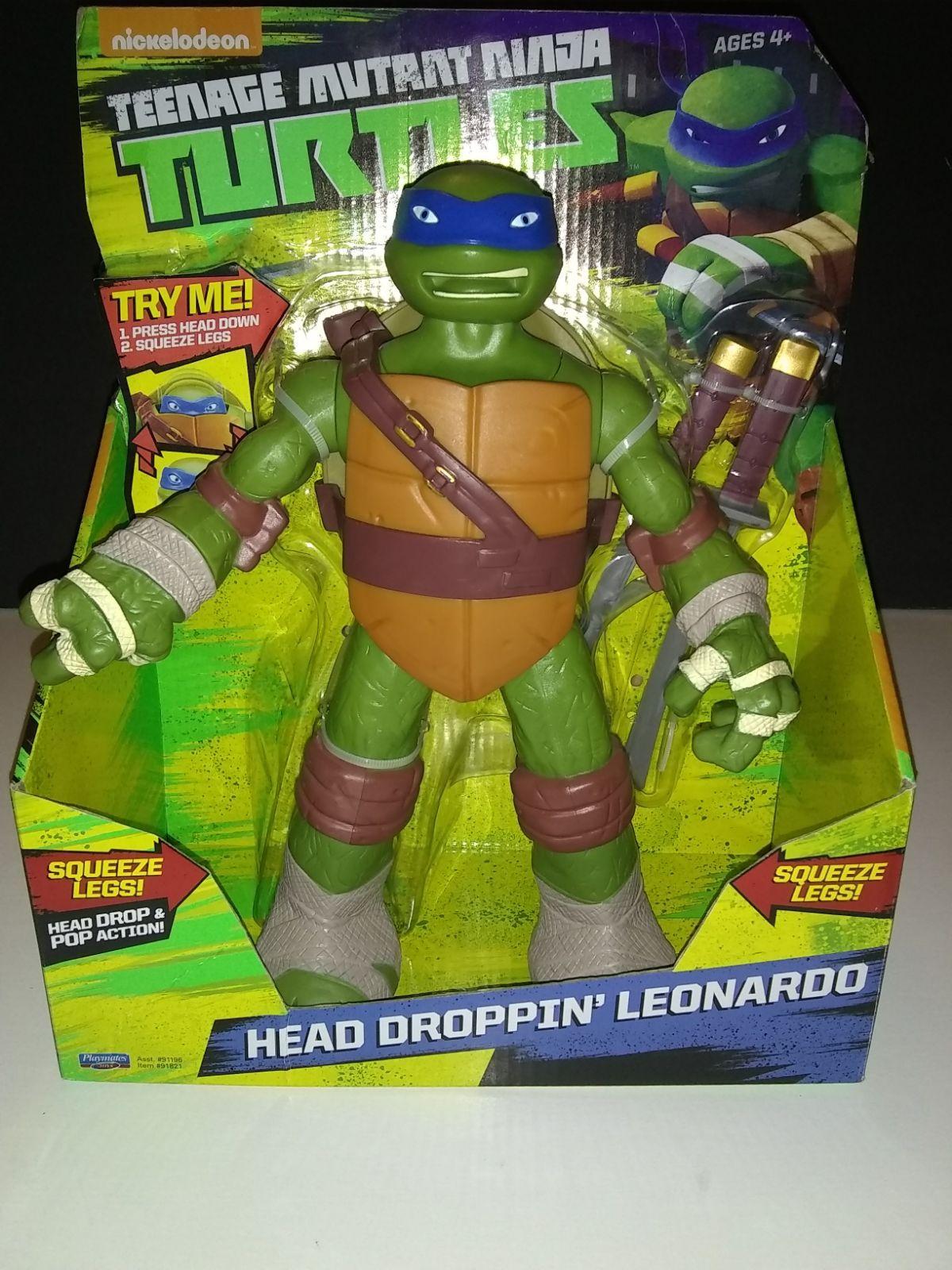 TMNT Leonardo action figure toy