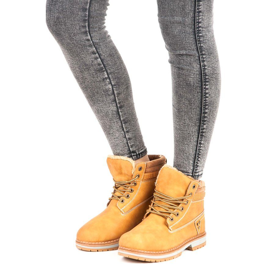 Sznurowane Trapery Brazowe Boots Timberland Boots Shoes