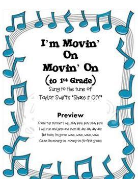 kindergarten graduation song movin