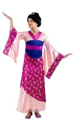 D guisement mulan disney adulte d guisement en m pinterest d guisements maquillage - Robe disney adulte ...