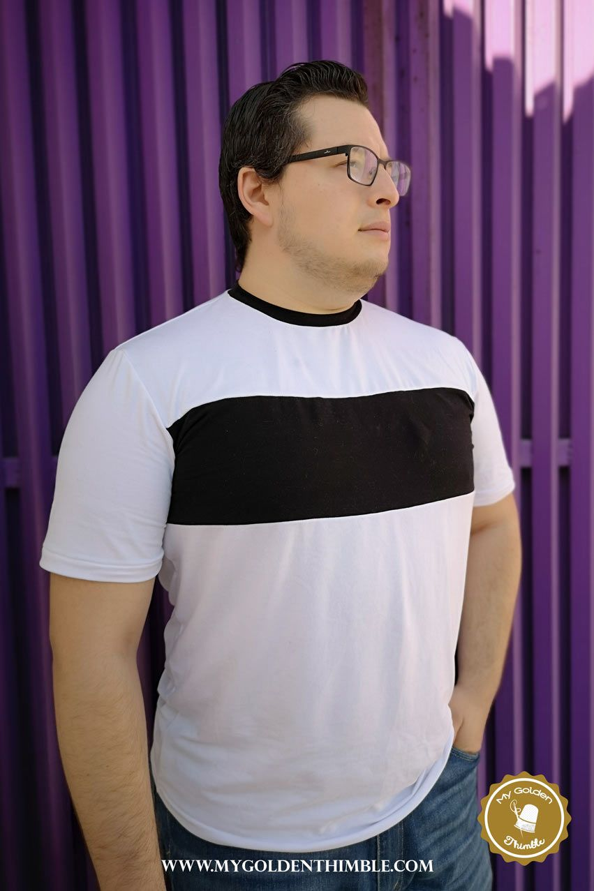 Men S T Shirt Sewing Pattern Download Here Today T Shirt Sewing