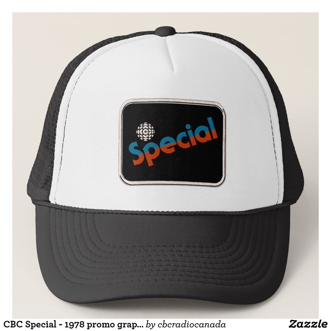 7d288516583 CBC Special - 1978 promo graphic Trucker Hat