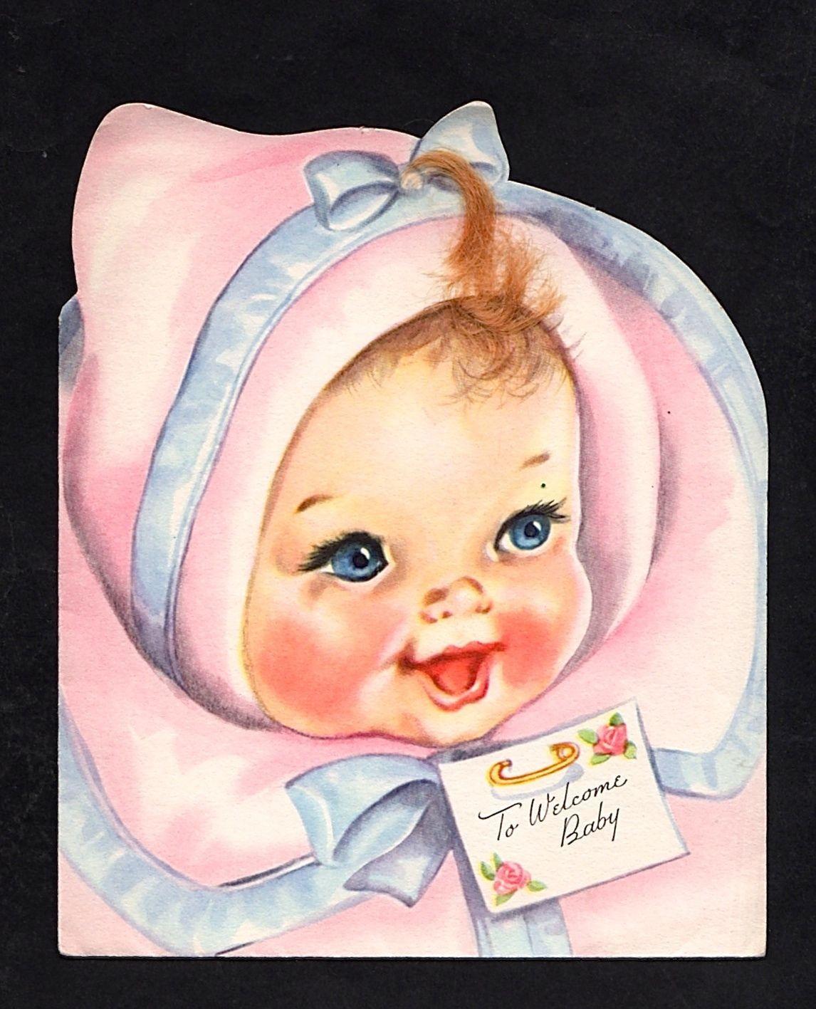 Unused New Baby Greeting Card Je 03 | eBay